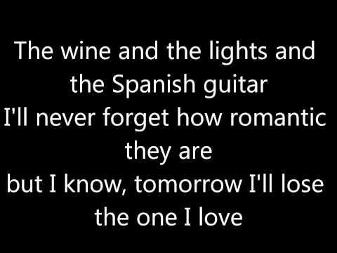 Sarah Connor - Just one last dance (karaoke version)