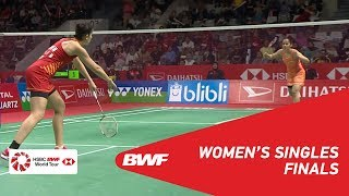 F | WS | Saina NEHWAL (IND) [8] vs Carolina MARIN (ESP) [5] | BWF 2019