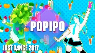 Just Dance 2017: PoPiPo by Hatsune Miku - Official Track Gameplay [US]