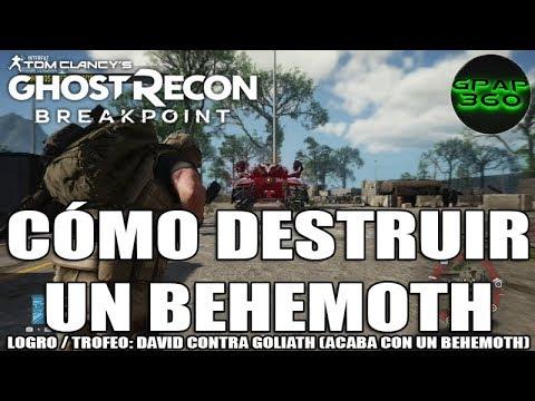 Ghost Recon Breakpoint | Cómo Destruir Un Behemoth Fácilmente (Logro / Trofeo: David Contra Goliath)