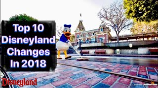 Top 10 Big Changes At Disneyland In 2018 / Event Dates / Pixar Pier / Pirates / Main St. Makeover