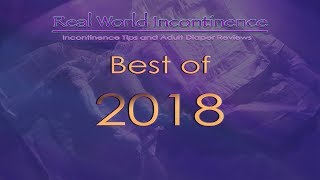 "Best ""Tested"" Incontinence Products of 2018 (adult diapers)"