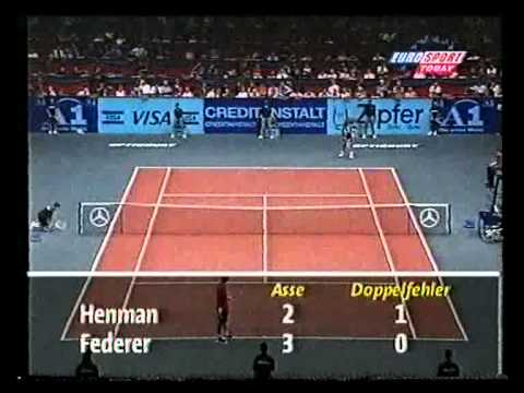 Vienna 2000 SF Federer vs Henman