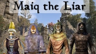 Maiq the Liar, Through the Ages (Morrowind, Oblivion, Skyrim & ESO)