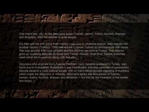 Assyrian Identity (Part 3): Assyrian Language