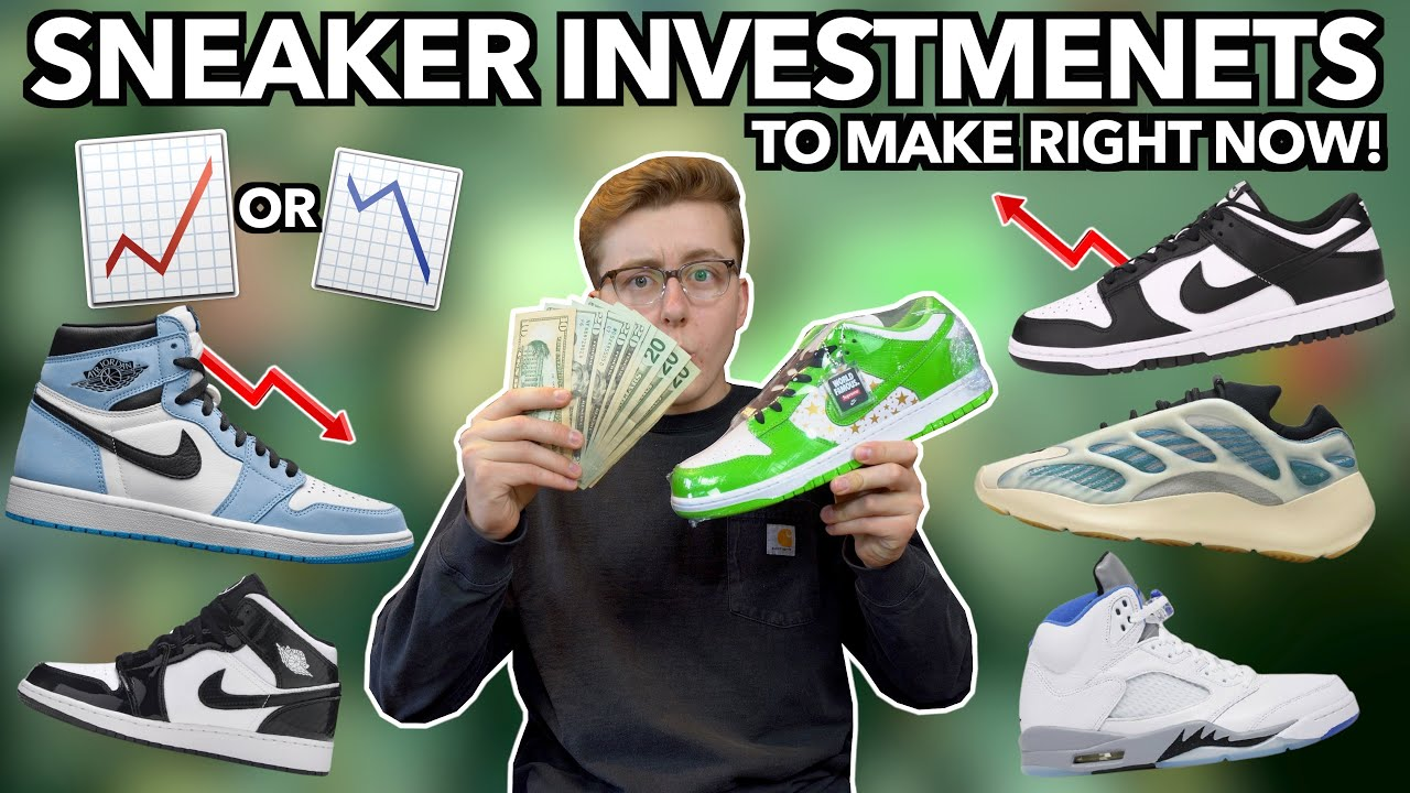 SNEAKER INVESTMENTS TO MAKE RIGHT NOW! | Supreme x Nike Dunks, Jordan 1 UNC & MORE Mids!
