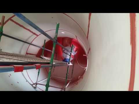 Pressure Tank Vessel Painting 2