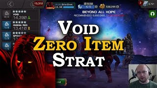 Zero Item Labyrinth Strat with Void | Marvel Contest of Champions