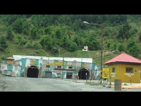 Jawahar Tunnel at Banihal, Jammu and Kashmir