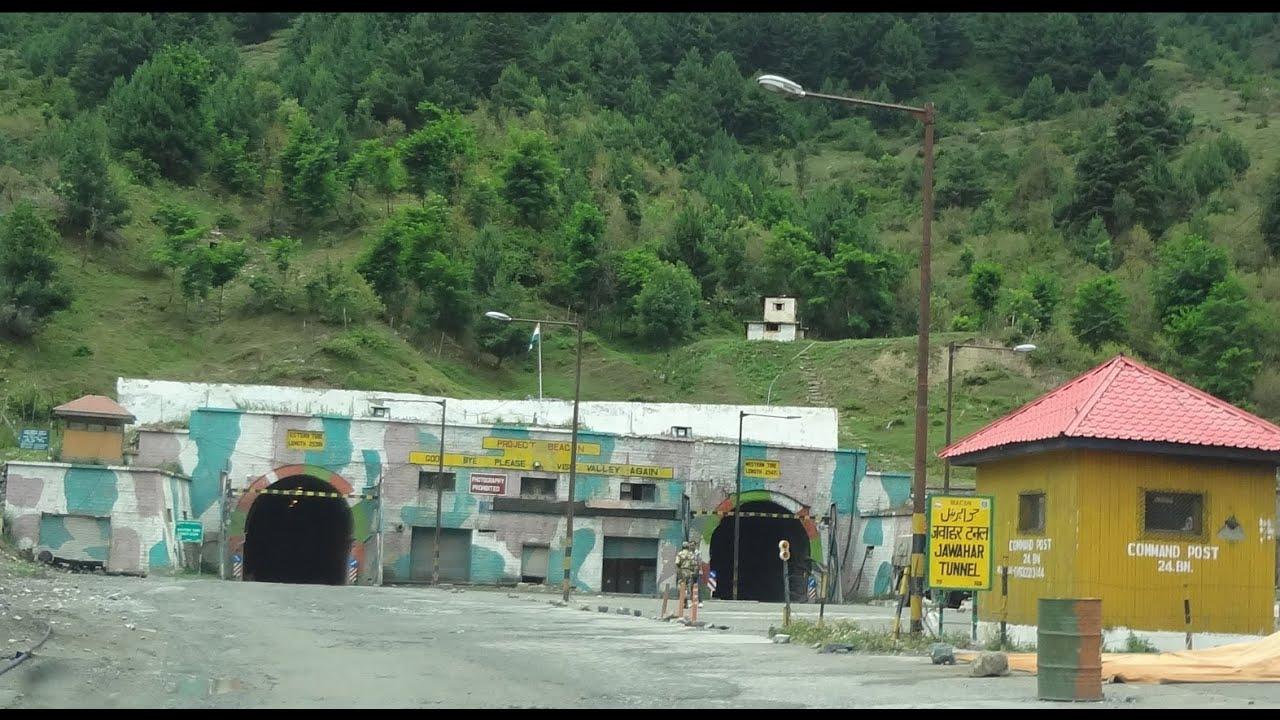 Jawahar Tunnel At Banihal, Jammu And Kashmir - Youtube-6083