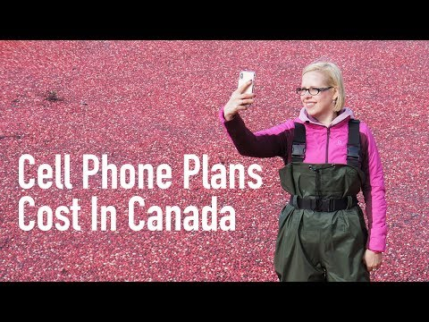 Cost Of Living In Canada   Cell Phone Plans