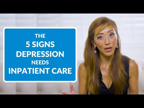 5 Signs Someone's Depression Calls for Inpatient Care