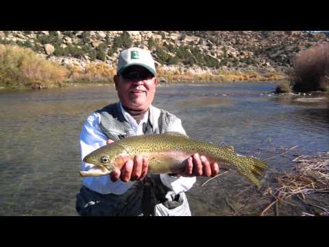 San Juan River, Fly Fishing, Andy Kim Guide Trip, Fall 2010 Fuji HS 10
