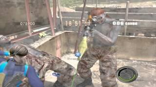 Resident Evil 5 mod Public Assembly all Rocketman only