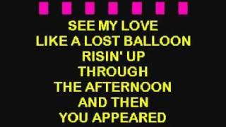 Jones, Norah - Those Sweet Words -REAL KARAOKE with lyrics