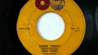 Gino Parks - Same Thing