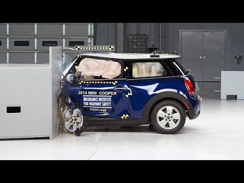 2014 Mini Cooper driver-side small overlap test