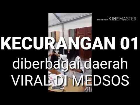 KECURANGAN 01 PEMILU DIBERBAGAI DAERAH VIRAL DI MEDSOS