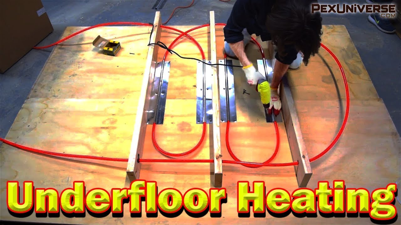 How To Install Radiant Floor Heating