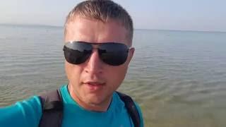Видео отчёт море Витязево 3.08.2016-  7.10 утра