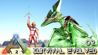 ARK: SURVIVAL EVOLVED - FIRST TOXIC DINO TAMED !!! PRIMAL FEAR OLYMPUS E02