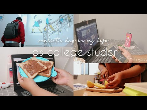 Introvert Diaries 🤗 : A Realistic Day In My Life As College Student 👩🎓    INDONESIA