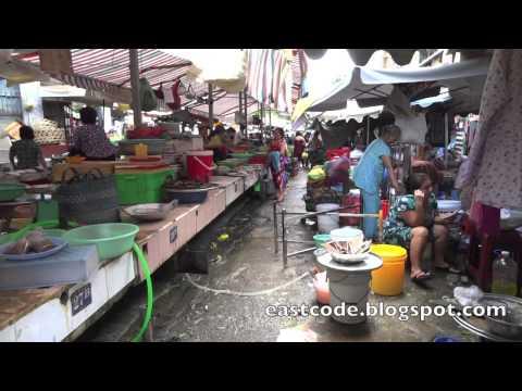 walk through Cho Thai Binh market   Ho Chi Minh city  Vietnam