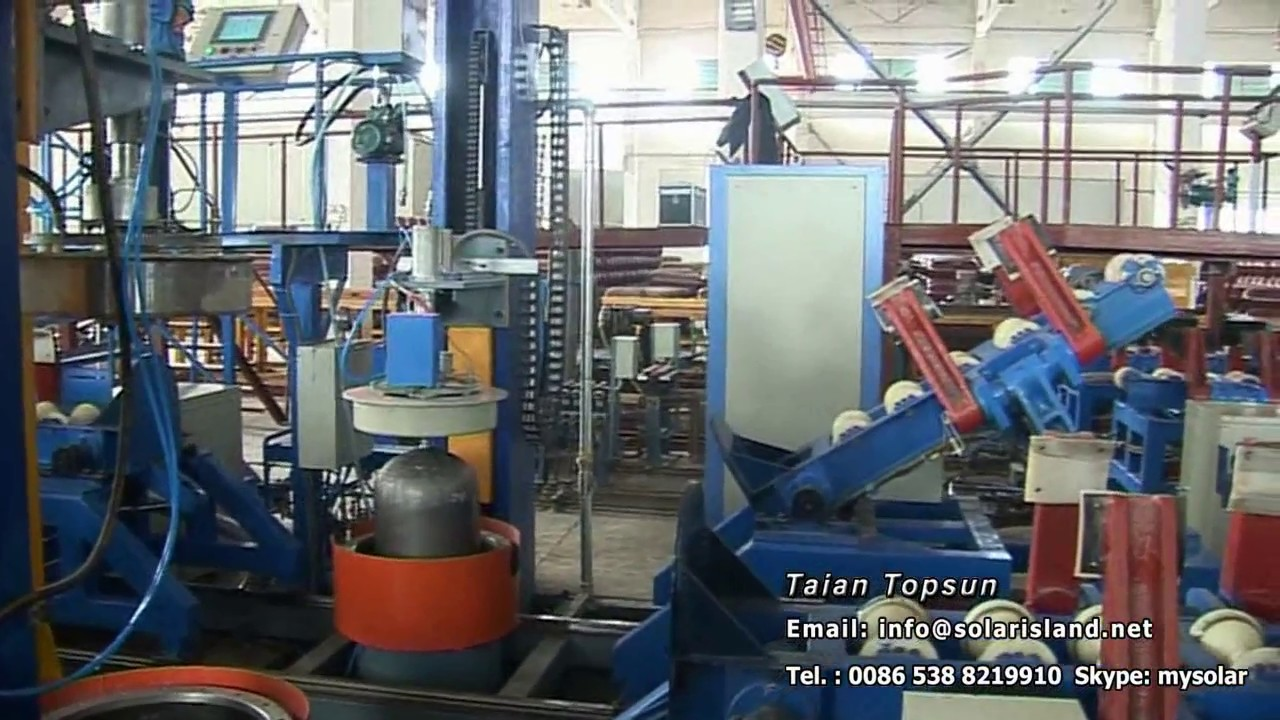 Automated External type CNG cylinder hydrostatic test machine--CNG cylinder  hydro testing