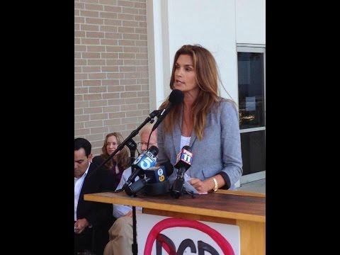 PCB Scandal in Malibu - Cindy Crawford steps up to pay for PCB testing at Malibu High School