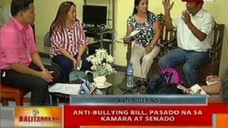 BT: Anti-bullying Bill, pasado na sa kamara at senado
