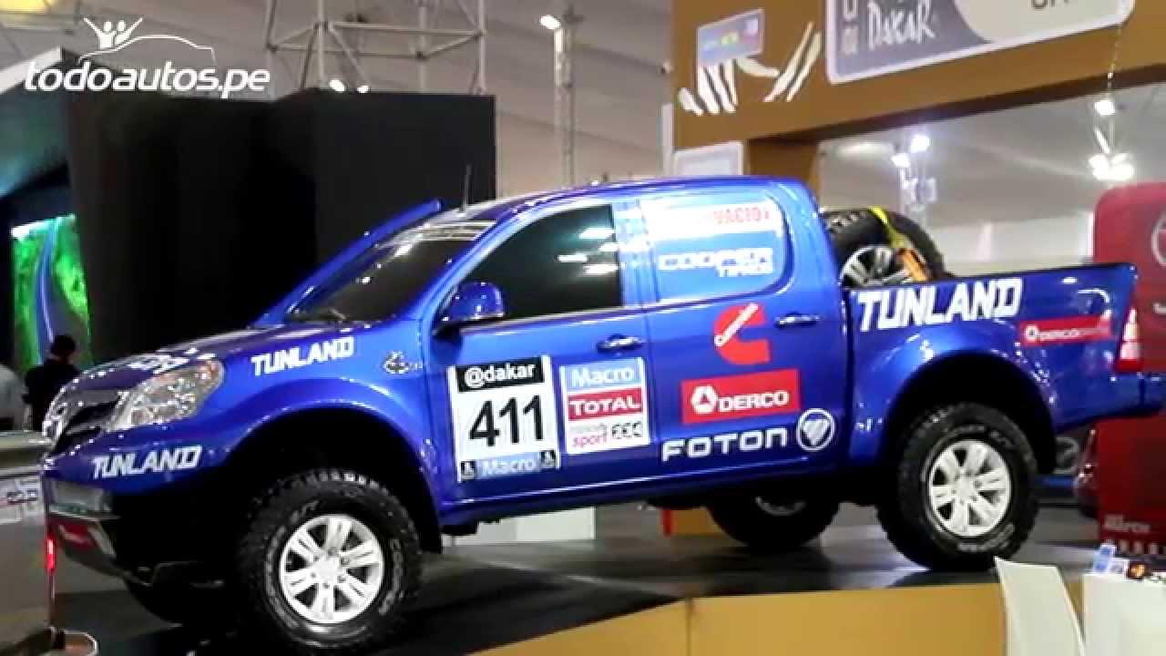 Foton Tunland Y Sauvana En El Motor Show De Lima Per I
