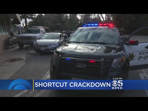 Menlo Park Police Crack Down On Newly Restricted Turns