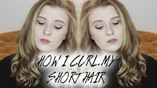 HOW I STYLE MY SHORT HAIR
