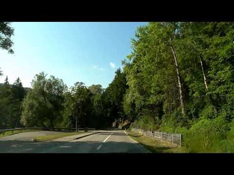 DRIVE Austria: VILLACH - Affenberg - OSSIACH - Worthersee - KLAGENFURT - VIENNA in 5 HOURS video