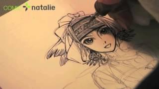 BRIDE STORIES - Kaoru Mori drawing Amira 3/5