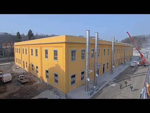 Time lapse cantiere Mazzucchelli 1849 timelapse video cantieri in time lapse mese #25