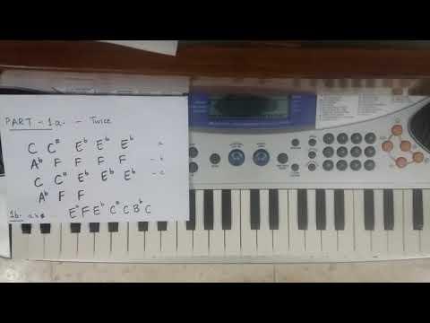 Evare (Premam) Telugu song   Easy Piano/Keyboard Detailed Tutorial   for beginners   Part 1