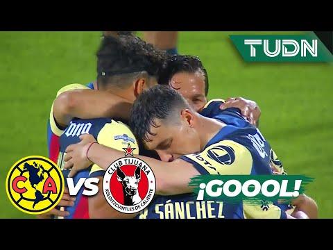 ¡ULTRA GOLAZO! Trallazo de Richard   América 1-0 Tijuana   Guard1anes 2020 Liga BBVA MX - J2   TUDN