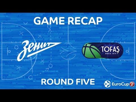 Highlights: Zenit St Petersburg - Tofas Bursa