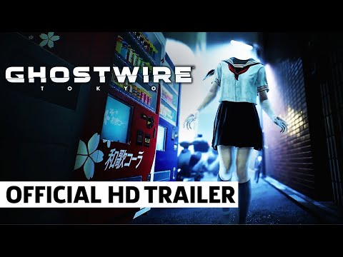 GhostWire Tokyo – Official Gameplay Reveal Trailer