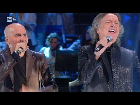 Marco Armani e Red Canzian cantano