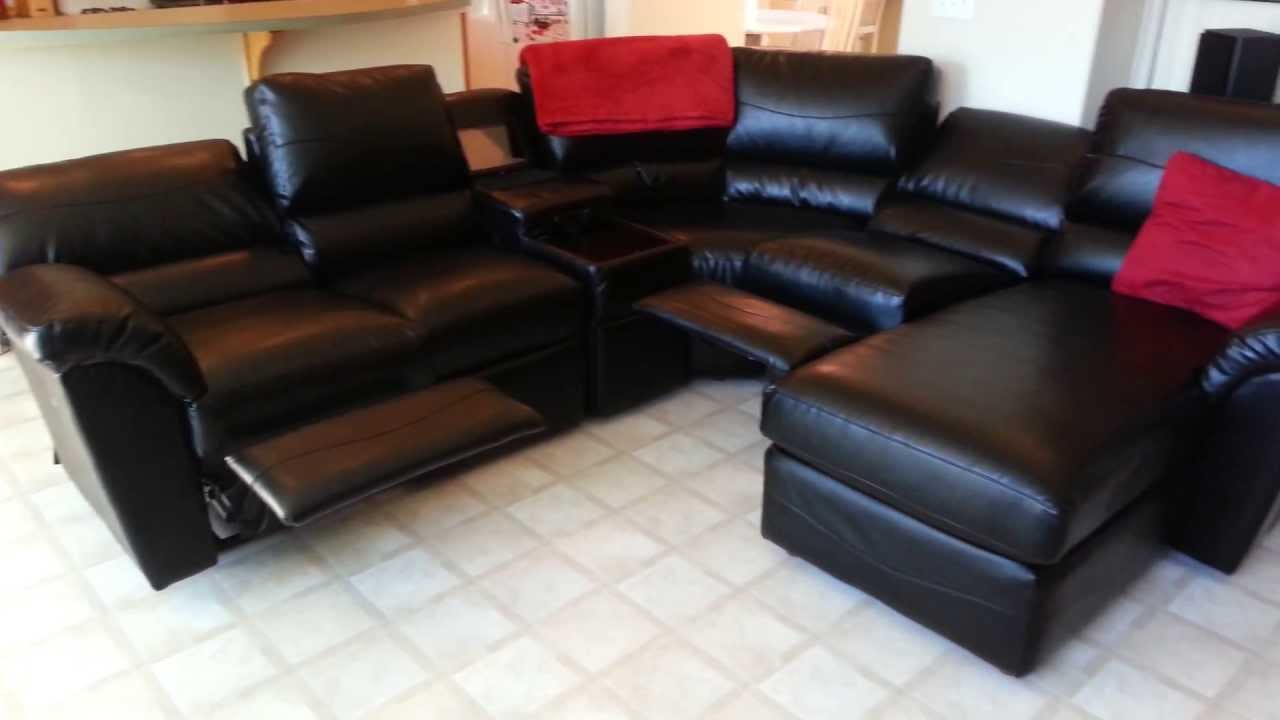 Custom La Z Boy Reese Sectional   YouTube