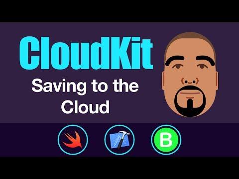 CloudKit: Saving to the Cloud | Swift 4, Xcode 9