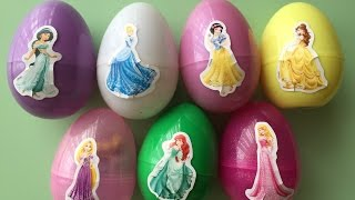 Surprise Eggs, Toys Include Princess Cinderella Princess Belle Princess Rapunzel Princess Ariel ... thumbnail