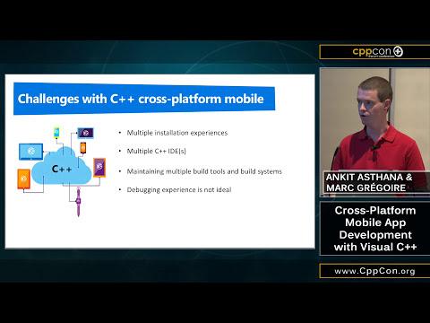 "CppCon 2015: Ankit Asthana & Marc Gregoire ""Cross-Platform Mobile App Development with Visual C++"""
