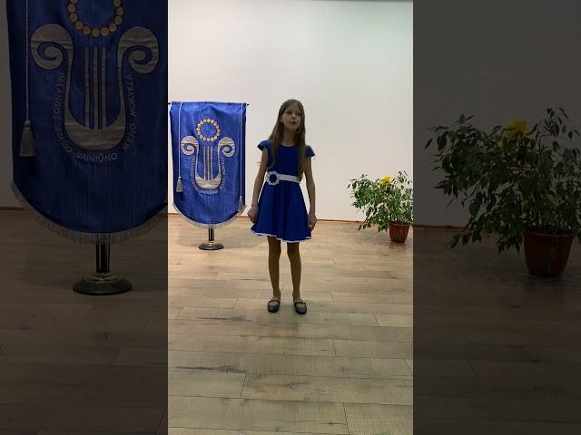 Joana Stonkutė. Konkursas