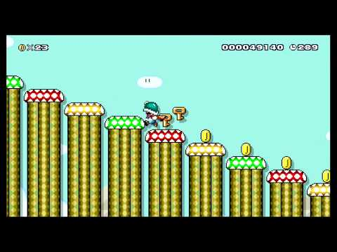 Easy's Normal SMW Overworld 1! by GTRP_Easy - SUPER MARIO MAKER - NO COMMENTARY