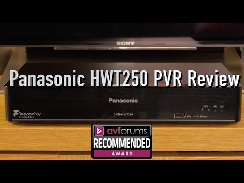 Panasonic HWT250 PVR Review