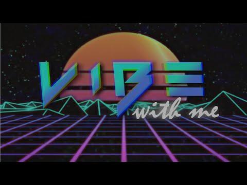 Matthaios - Vibe With Me (Retro Version Lyrics Video) ft. Lonezo