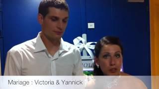 Avis animation dj mariage alsace de Victoria et Yannick : Weddingbox-alsace